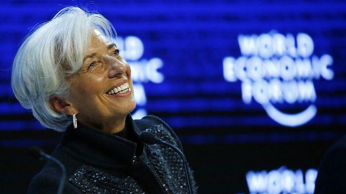 Кристин Лагард переизбрана главой МВФ
