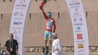 Nibali takes overall lead in Tour of Oman
