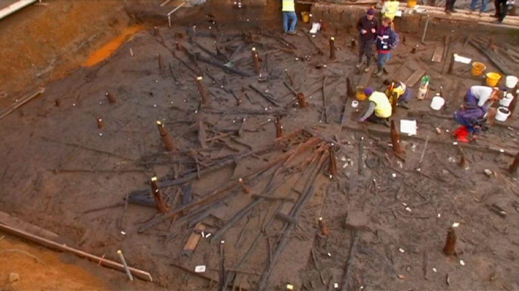 """Trovata una ruota intatta nella """"Pompei del Regno Unito"""""""