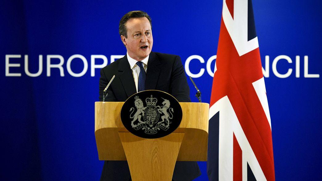 Brexit: Cameron confirma acordo com líderes europeus para manter o Reino Unido no seio da UE