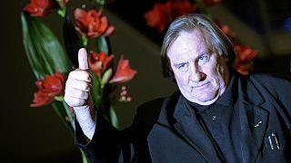 """Berlinale : les scuds de Depardieu, venu pour """"Saint-Amour"""""""