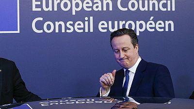 Em que consiste o acordo que concede um estatuto especial ao Reino Unido na UE?