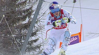 Esqui Alpino: Primeira vitória de Franchini, Vonn recupera liderança geral