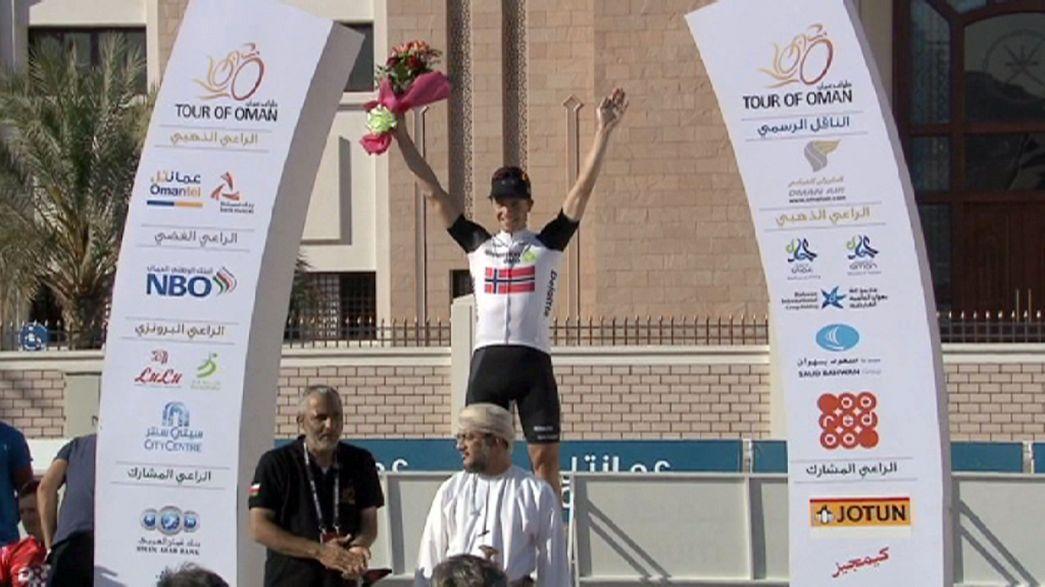 Ciclismo: Hagen vence etapa no Omã, Nibali na liderança