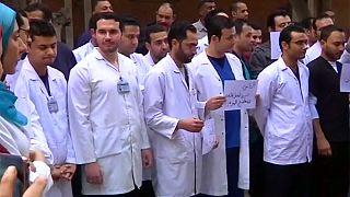 A rendőri brutalitás ellen tüntettek Egyiptomban