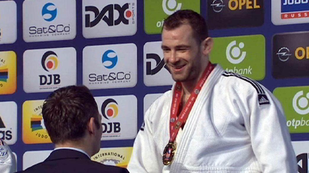 Segunda jornada del Gran Premio de Dussëldorf de judo