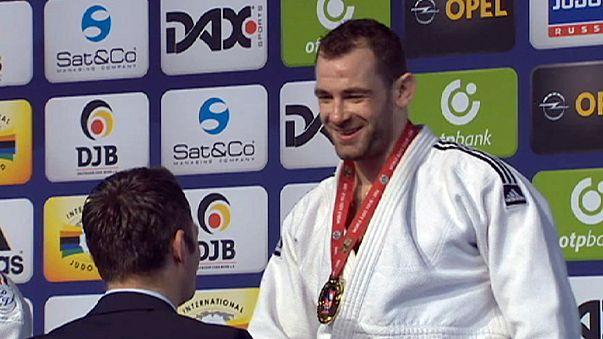 جائزة دوسلدورف الكبرى للجيدو: الذهب لكل من بلجيكا والنمسا والكندي فورتيي يخرج من المنافسة