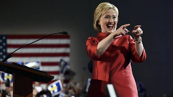 US election race: Hillary Clinton wins in Nevada