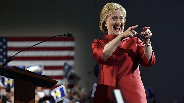 Хиллари Клинтон победила на кокусах в Неваде