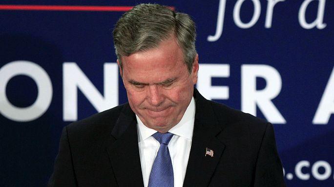 South Carolina'da Trump kazandı, Jeb Bush yarıştan çekildi