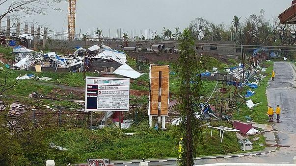 خمسة قتلى وخسائر مادية في جزر فيجي جراء إعصار وينستون