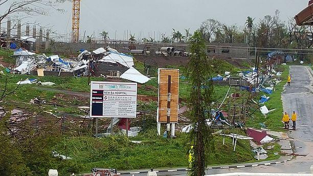 Fiji cyclone kills at least five, raises fears of health crisis