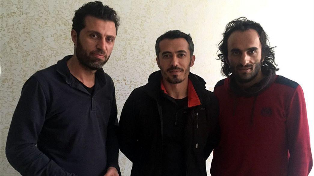 Jornalistas raptados na Turquia já foram libertados