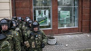 Ucraina: proteste per l'anniversario di Maidan