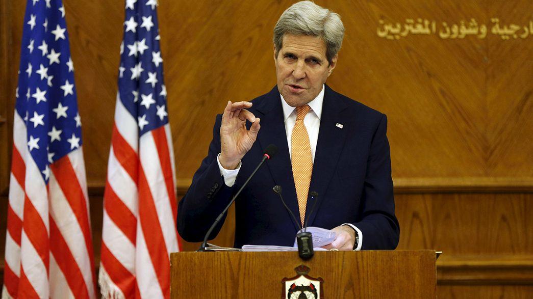 John Kerry anuncia acordo provisório para cessar-fogo na Síria
