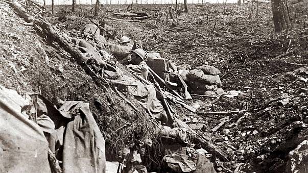Commémoration en situation des 100 ans de la bataille de Verdun