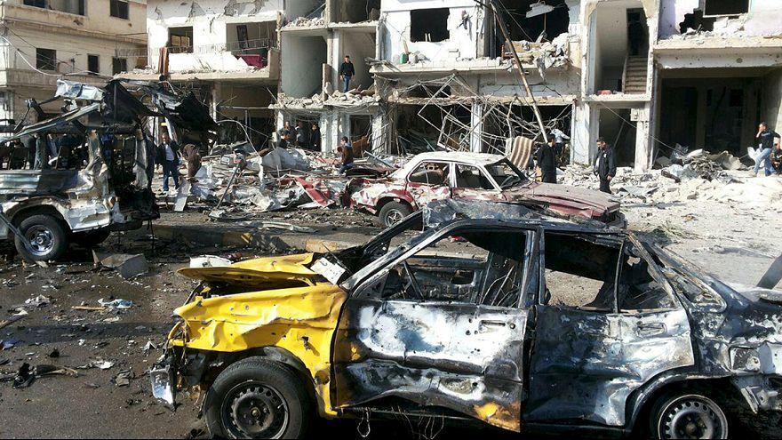 Terrorhullám Szíriában