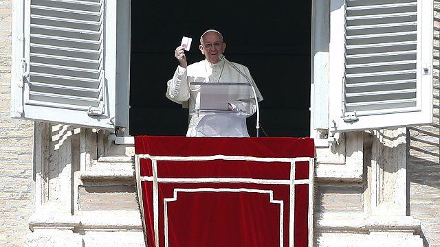 Papa'dan idam mesajı
