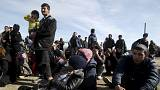 FYROM blocks Afghan migrants at border