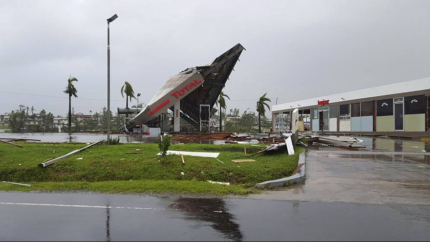 Fiji: Depois do ciclone, a limpeza