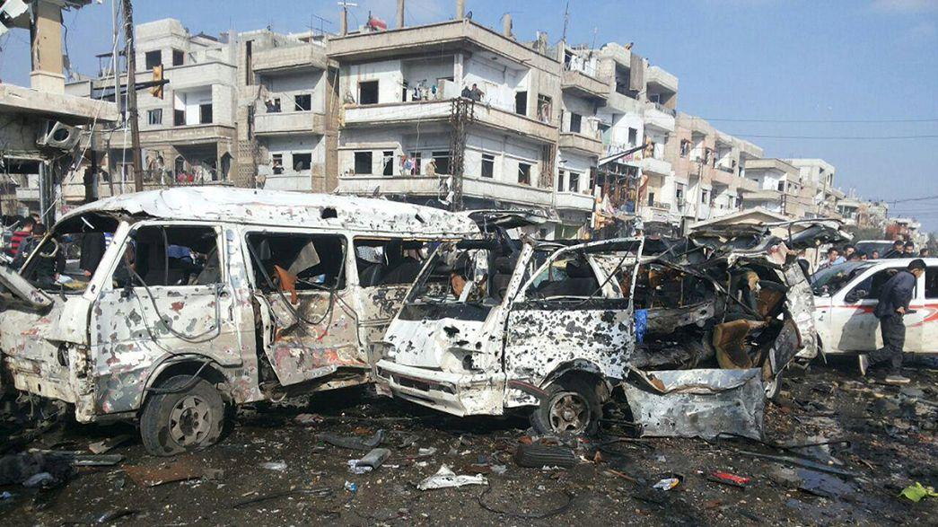 """Kerry anuncia un """"acuerdo provisional"""" con Lavrov para una tregua en el conflicto sirio mientras el país se desangra"""