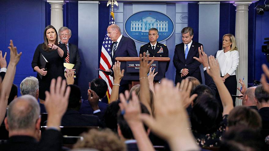 Image: U.S. national security, intelligence and law enforcement officials g