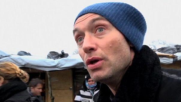 """Jude Law na """"Selva"""" de Calais para sensibilizar Cameron"""
