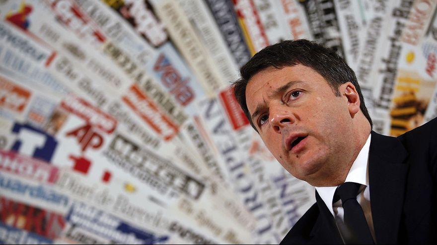 İtalya Başbakanı Renzi 'medeni birliktelik' tartışmasını sonladırmaya kararlı
