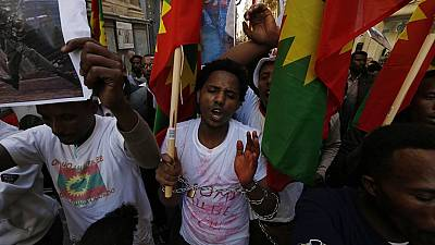 Ethiopia's government denies using force in Oromia protests