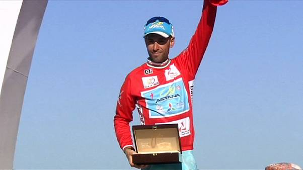 Cycling: Nibali celebrates overall Tour of Oman victory