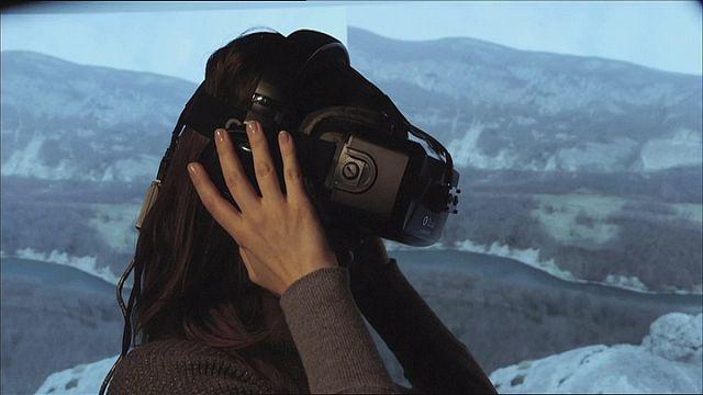 الواقع الإفتراضي لعلاج الخوف المرضي