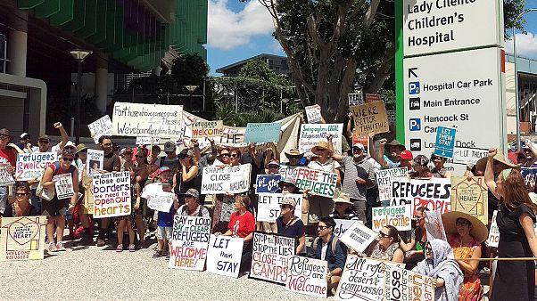 استرالیا؛ کودک پناهجوی تحت درمان در بیمارستان به جزیره نائورو برگردانده می شود