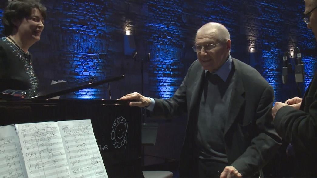 Homenaje por su 90 cumpleaños al compositor húngaro György Kurtág, leyenda viva de la música
