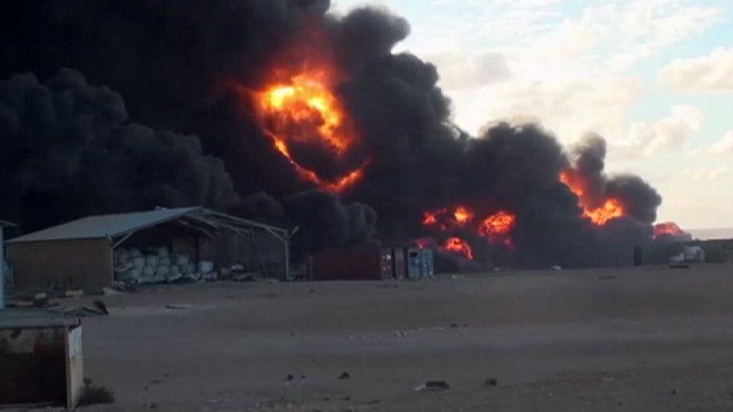 """Companhia petrolífera da Líbia apela à ONU por receio de novos ataques do """"Daesh"""""""