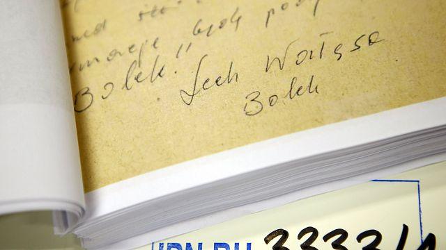 В Польше обнародовали документы об агентурном прошлом Валенсы