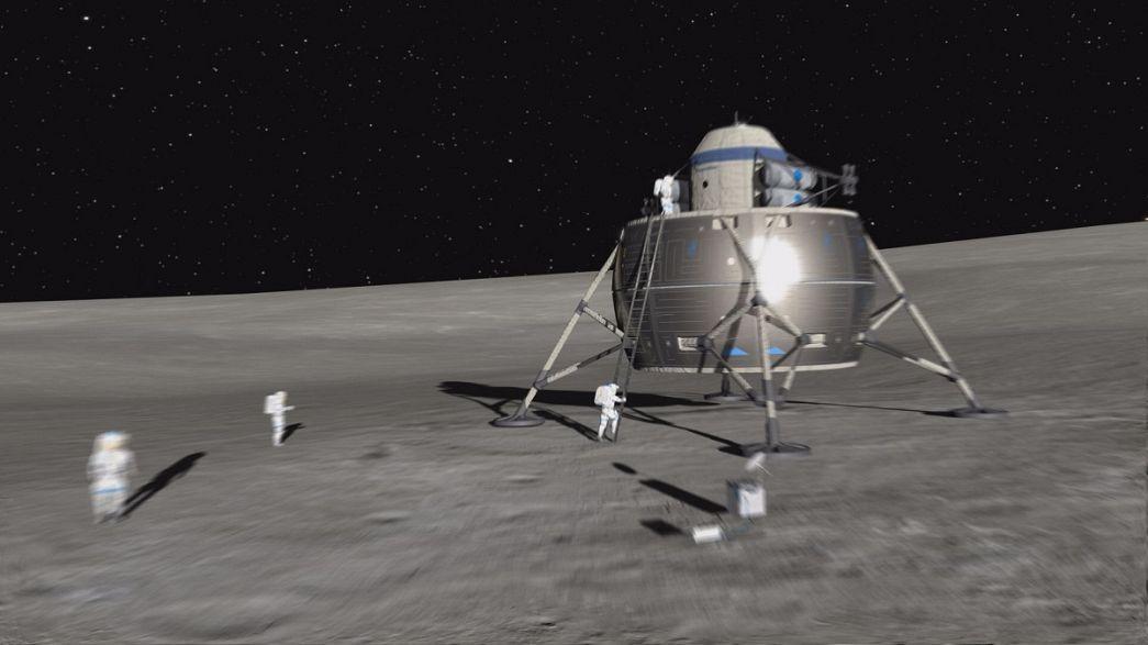Европа возглавит строительство городка на Луне