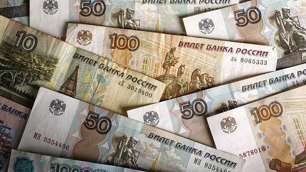 Dollar-Schuldner protestieren in Moskau gegen schwachen Rubel