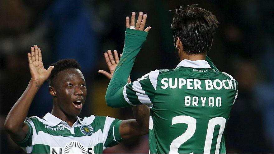 """Liga Portuguesa, J23: Sporting vence """"panteras"""" e mantém Benfica à distância"""