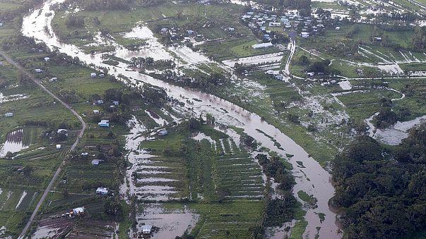 Kasırganın vurduğu ada ülkesi Fiji'de yıkım büyük