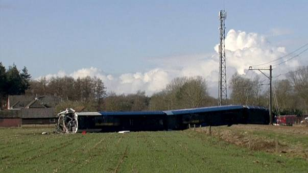 Deadly train crash in Netherlands