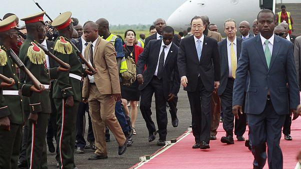 Επίσκεψη - αστραπή του ΓΓ του ΟΗΕ στο Μπουρούντι