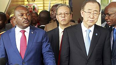 Nkurunziza agrees to 'inclusive dialogue' with opposition, Ban Ki-moon confirms