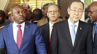 Nkurunziza agrees to 'inclusive dialogue' with opposition, Ban Ki-moon confirms