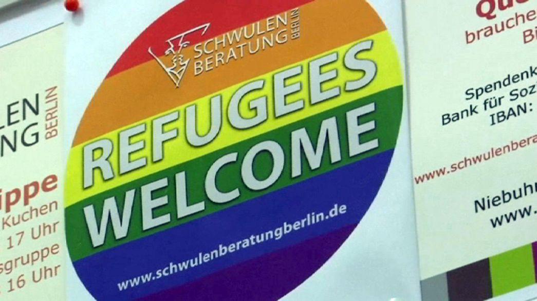 Berlim inaugura abrigo para refugiados homossexuais