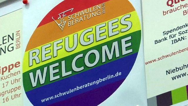 Berlin'de LGBT mülteciler için sığınma merkezi açıldı