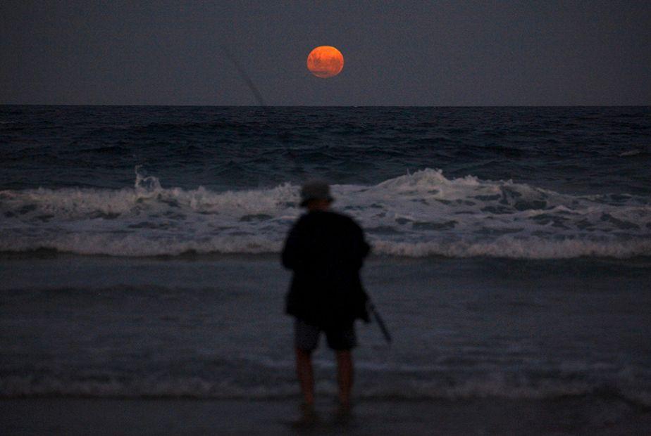 Une pêche nocturne très romantique !