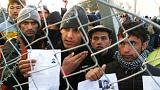 Migrants resist as Greek police move to clear border 'bottleneck'
