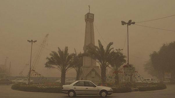 ادامه آلودگی هوای اهواز: میزان گرد و غبار تا ۲۴ برابر حد مجاز