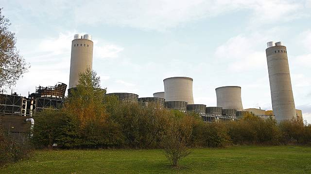 One dead as decommissioned UK power station collapses