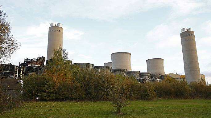 Összeomlott egy brit erőmű